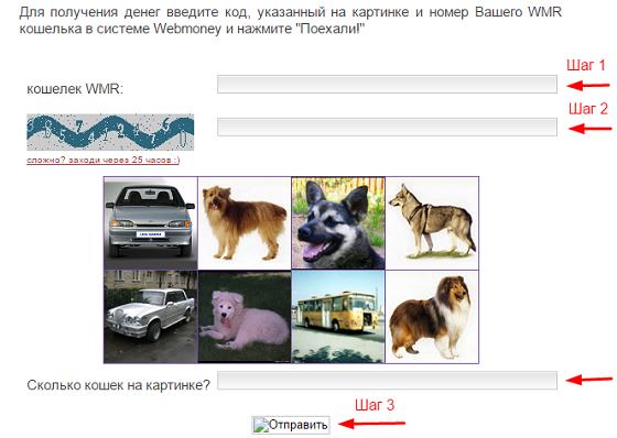 Раздача денег (WMR) - 5-kopeek.ru