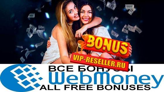 Бонусы от Vip-Reseller.ru