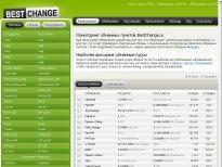 Мониторинг обменников BestChange.ru предлагает самую актуальную информацию о курсах
