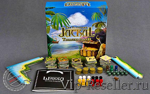 Настольная игра Шакал: Остров Сокровищ - Мосигра