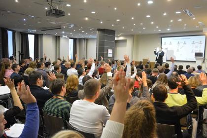 собралось 160 предпринамателей с СНГ и Европы