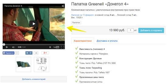 Предметное видео
